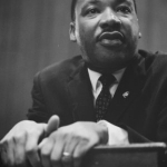 Dr King at a 1964 Lecture